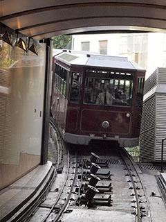 Hong Kong, The Peak Tram