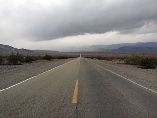 on the road again ... Death Valley