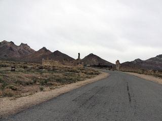 saabume Rhyolite Ghost Town-i