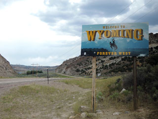Welcome to Wyoming ...
